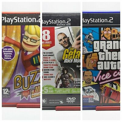 Juegos Ps2 - Gta Vice City - Buzz El Mega Concurso