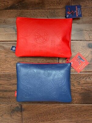 United Airlines Promotional Spider Man Business Class Amenity Kit— Red Only