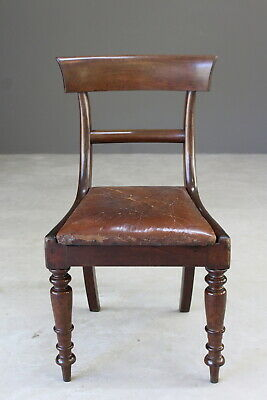 Single Mahogany William IV Dining Chair