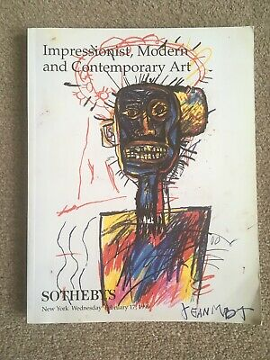 Sotheby's Auction Catalogue: Impressionist, Modern And Contemporary Art