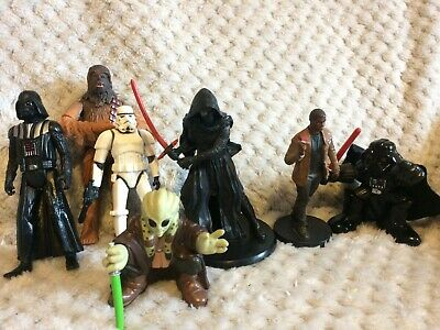 Star Wars Bundle Figures Chewbacca Darth Vader Mixed