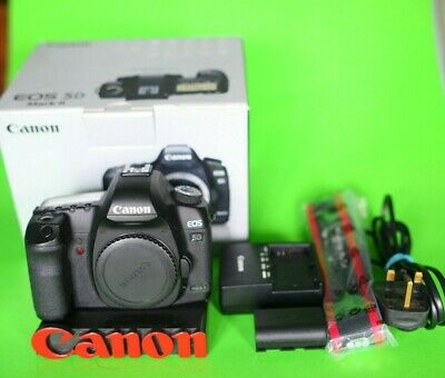 Canon EOS 5D Mark II 21.1MP DSLR Camera 5D2 MK2 mkII 5Dii 23k shutter count!!!