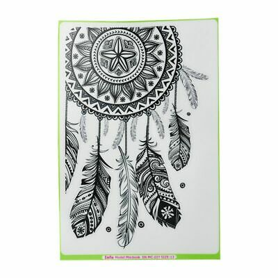 """3X(Innovation Dream Catcher Removable Vinyl Decal Sticker for Macbook 13"""" X7N9)"""