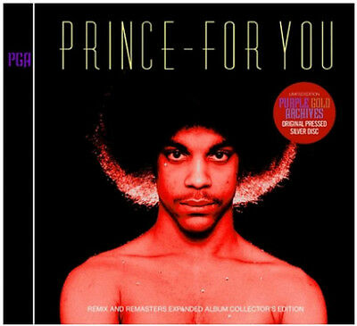 PRINCE - For You Remix and Remasters 2 CD COLLECTORS EDITION