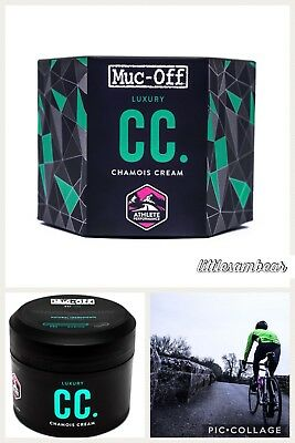 CC Chamois Cream Muc-off Athlete Performance 250ml Anti Chafing Cycling Running