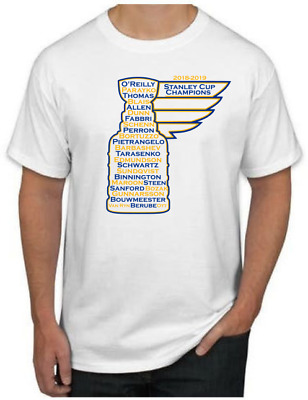 St. Louis Blues 2018-2019 STANLEY CUP CHAMPIONS Shirt - NHL Trophy T-Shirt