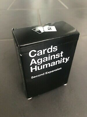 Cards Against Humanity Second Expansion Pack 100 Cards // Used Once