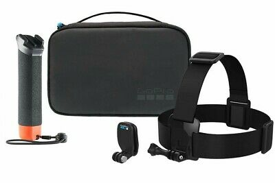 Official GoPro Adventure Kit The Handler Head Strap Quick Clip Carry Case NEW