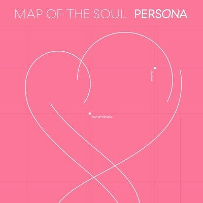 Bts Map Of The Soul: Persona All Versions Cd Booklet Photocard Stickers Kpop New