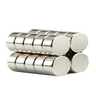 Super Strong 10mm by 5mm Rare Earth Neodymium Disc Magnets - Excellent Value!