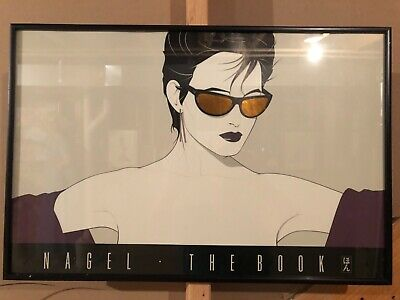 Vintage 1983 Patrick Nagel Print Limited Edition Reflective Sunglass Lenses.