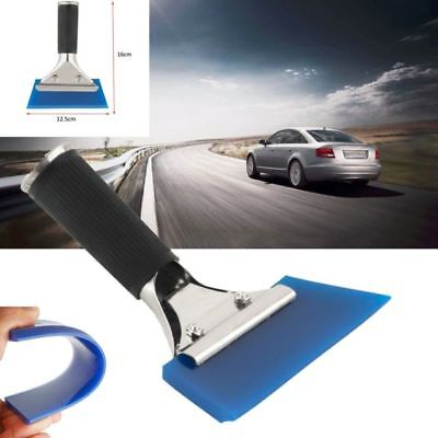 Pro Handle Wiper Rubber Squeegee Window Glass Cleaning Tint Vinyl Wrap Tool
