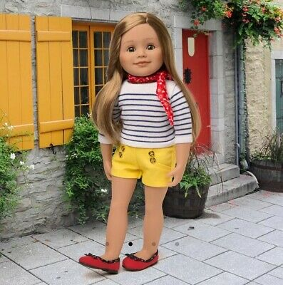 """NIB Maplelea """"Nautique Nouveau"""" French Inspired Summer Outfit, Adorable NEW!"""