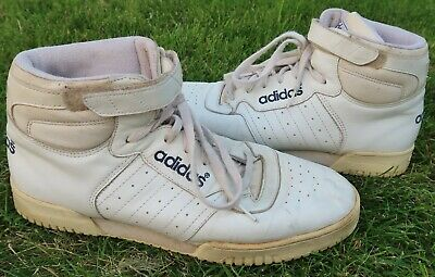 brand new 10a76 380e8 VINTAGE MEN'S ADIDAS POWER PHASE High Top SNEAKERS, Yeezy - White, SIZE 11