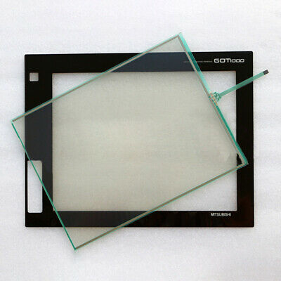 For Mitsubishi GT1685M-STBA GT1685M-STBD Protective Film + Touch Screen Glass