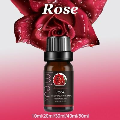 Rose Essential Oils 100% Pure Natural Aromatherapy Undilluted Therapeutic Grade