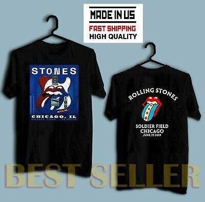HOT The Rolling Stones Chicago IL Soldier Field June 25 2019 No Filter T-Shirt