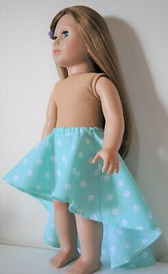 American Girl Doll Our Generation Journey 18 Inch Dolls Clothes High Low Skirt