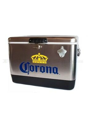Coleman Corona Stainless Steel Beer Cooler 54 quart - In TV commercial