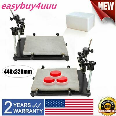 Manual Solder Paste Printer Stencil Printing Machine Work table 440X320mm