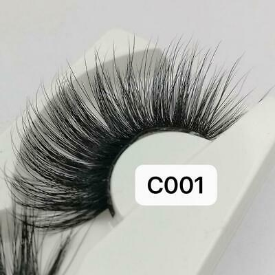 089f913daf7 1 Pairs 3D Thick Mink Hair False Eyelashes Lengthen The End Of Eyes Eye  Lashes