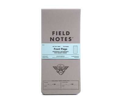 Field Notes Front Page 2-Pack Reporters Notebook