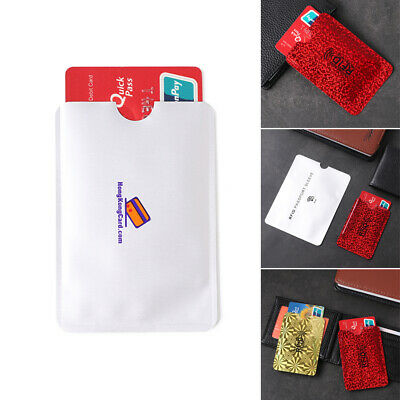 Foil  Protection RFID Shielding Bags Anti-theft Case Card Bag Bank Cards Set