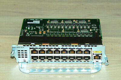 Cisco NME-16ES-1G-P 16xFE 1x GE Port EtherSwitch Network Module  1YrWty TaxInv