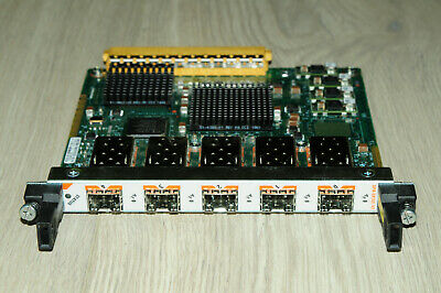 Cisco SPA-5X1GE-V2 5x SFP Gigabit Port Shared Port Adapter 1YrWty TaxInv