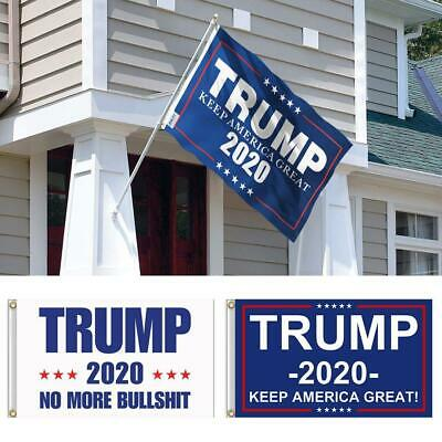 Trump 2020 Keep America Great President MAGA Make America Great 3x5 Ft Flag US g