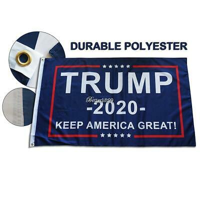 Trump 2020 Flag Double Sided Printed Donald Trump Flag Keep America Great