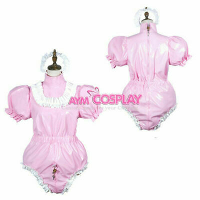 Adult sissy baby PVC Romper lockable vinyl Unisex tailor-made