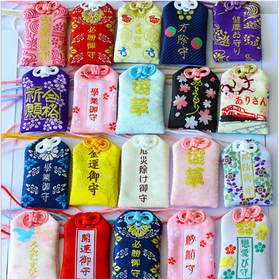 Japan Omamori Amulet Good Luck Pendants Traffic Safety Success Fortune Love Gift