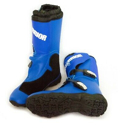 Motocross Boots, Kids/Youth sizes, Blue, MX, dirt bike, quad, ATV, protection