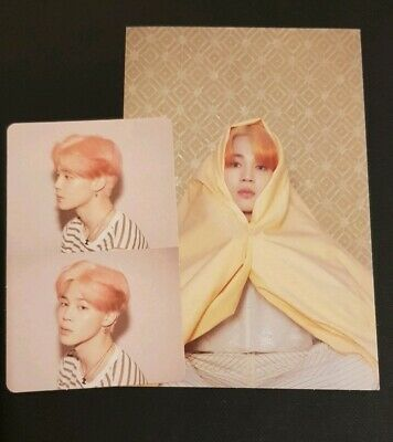 BTS Map of the Soul : Persona Photocard & Postcard - Jimin version 1