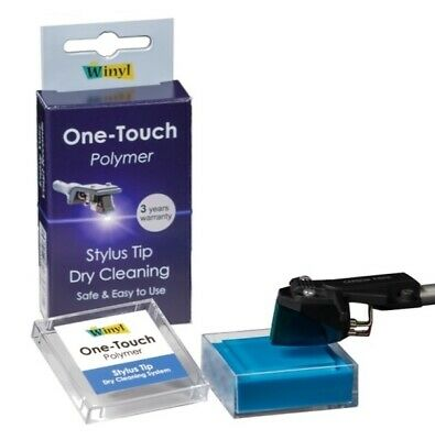 Winyl Nadel Reiniger One Touch Polymer Stylus Tip Dry Cleaning WOT-P
