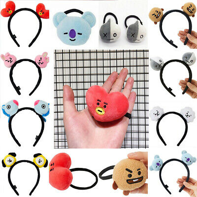 BT21  Headbands Hair Band Tie Hairpin Bangtan Boys Chimmy Tuck Comb Gift