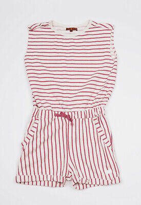 7 For All Mankind Girl's striped Playsuit Size L (12)
