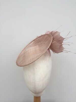 Latte Saucer Style Side Hat Fascinator