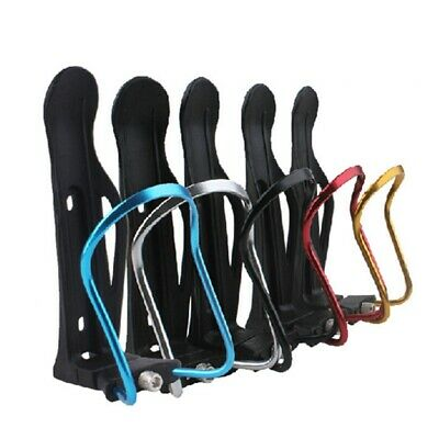 Adjustable Aluminum Bike Drink Water Bottle Holder Bicycle Mount Rack Cup JSF080