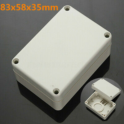 WATERPROOF ABS PLASTIC ELECTRONIC PROJECT BOX ENCLOSURE HOBBY CASE 83x58x35  /