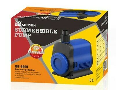 UK Submersible Water Pump for Pond Aquarium Fish Tank Fountain Waterfall Feature