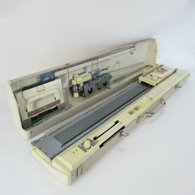 Vintage Brother KH 890 Knitting Machine with Original Box & Table - Not Tested