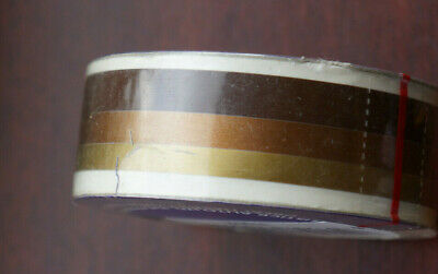 Gold, Copper, Brown Triple car stripes Retro Decal Coachlines 19mm Wide 10m Roll