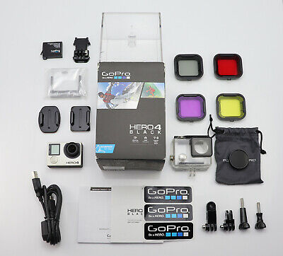 Gopro Hero 4 Black Edition Camcorder Boxed 1080P / 4K Ultra Hd Action Video Cam