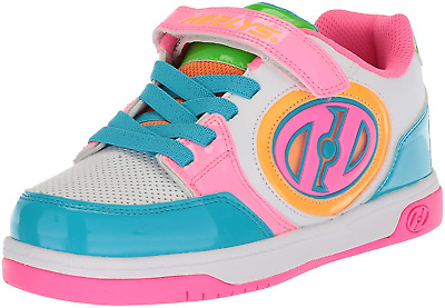 3761e67e38850 GIRLS HEELYS SIZE 2 - box shown, but not included ⬇️shipping ...