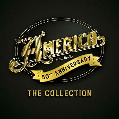 AMERICA 50th ANNIVERSARY: THE COLLECTION 3 CD (Released JULY 12th 2019)