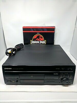 PIONEER CLD-D703 LASERDISC PLAYER 13 Laser Discs Included All Tested & Working