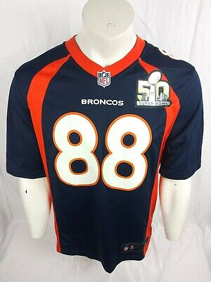 e50189b8 $180 WOMENS LEVIS Denim Jacket Denver Broncos Super Bowl 50 Sz ...