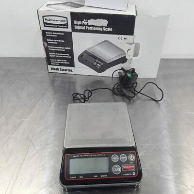 Commercial Scales Butcher Deli Digital Portioning Rubbermaid GG746